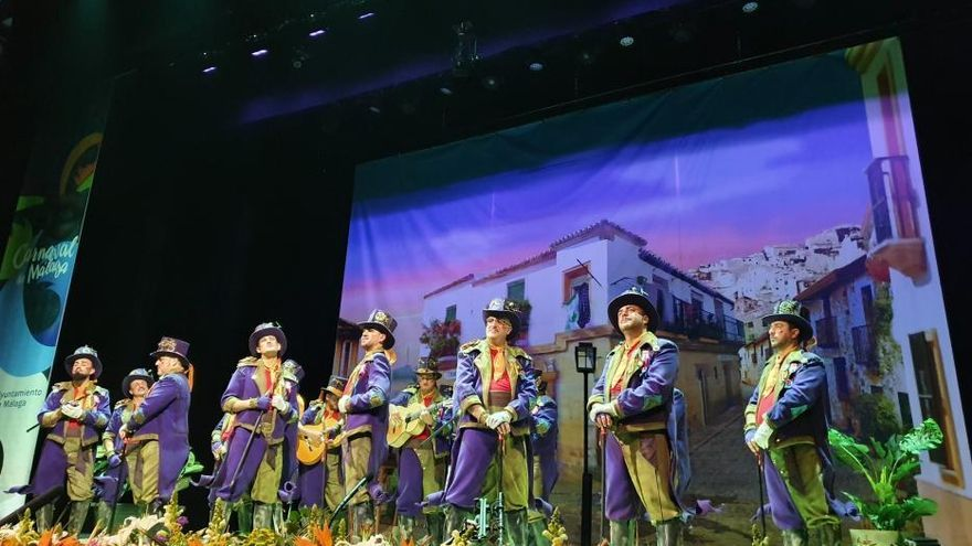 Cuarta semifinal del COAC del Carnaval de Málaga