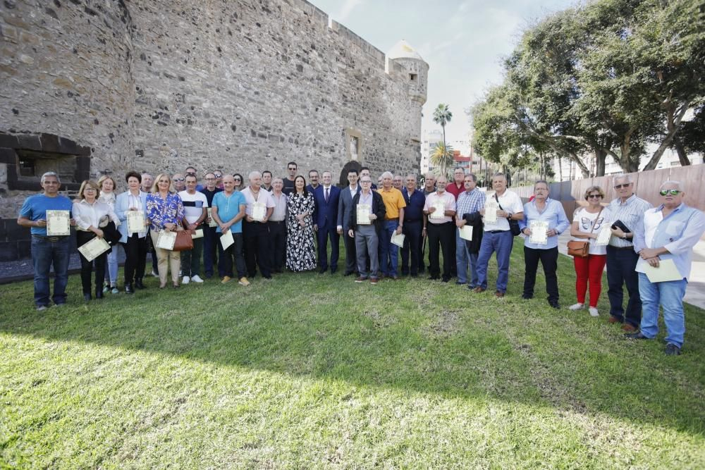Homenaje a unos 60 empleados municipales jubilados este año