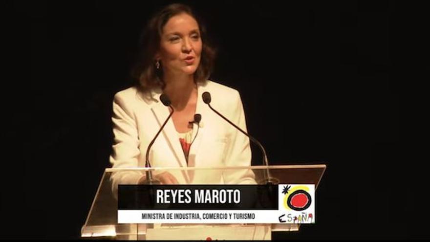 Directo | La ministra Reyes Maroto presenta en Canarias la Estrategia de Sostenibilidad Turística en Destino