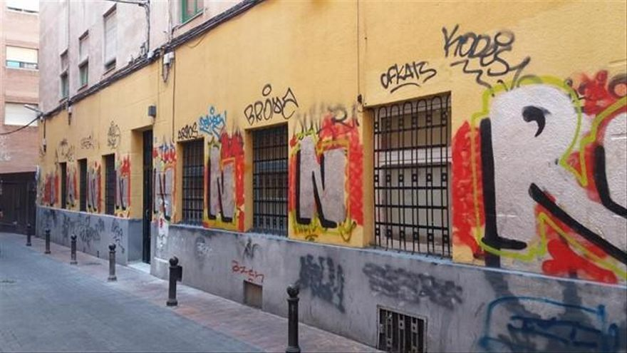 La Policía Local pone casi mil denuncias por grafitis en una década