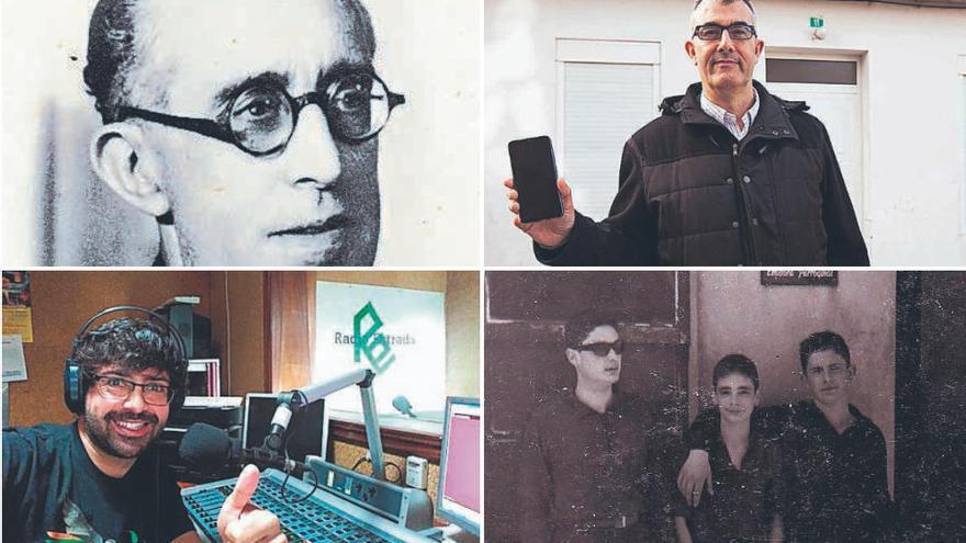 Pedro Pérez rescata la historia de la radio en A Estrada