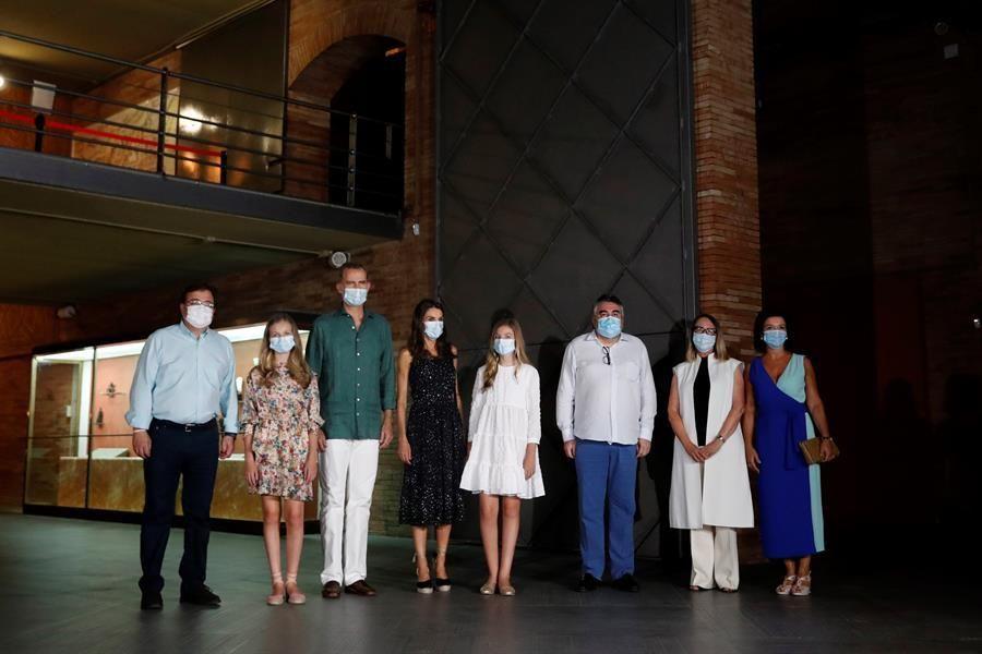 Los reyes asisten al Festival de Teatro Clásico de Mérida