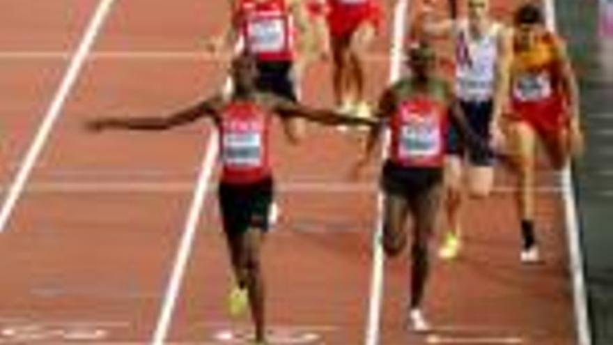 Mechaal es queda amb  el bronze als llavis al Mundial de Londres