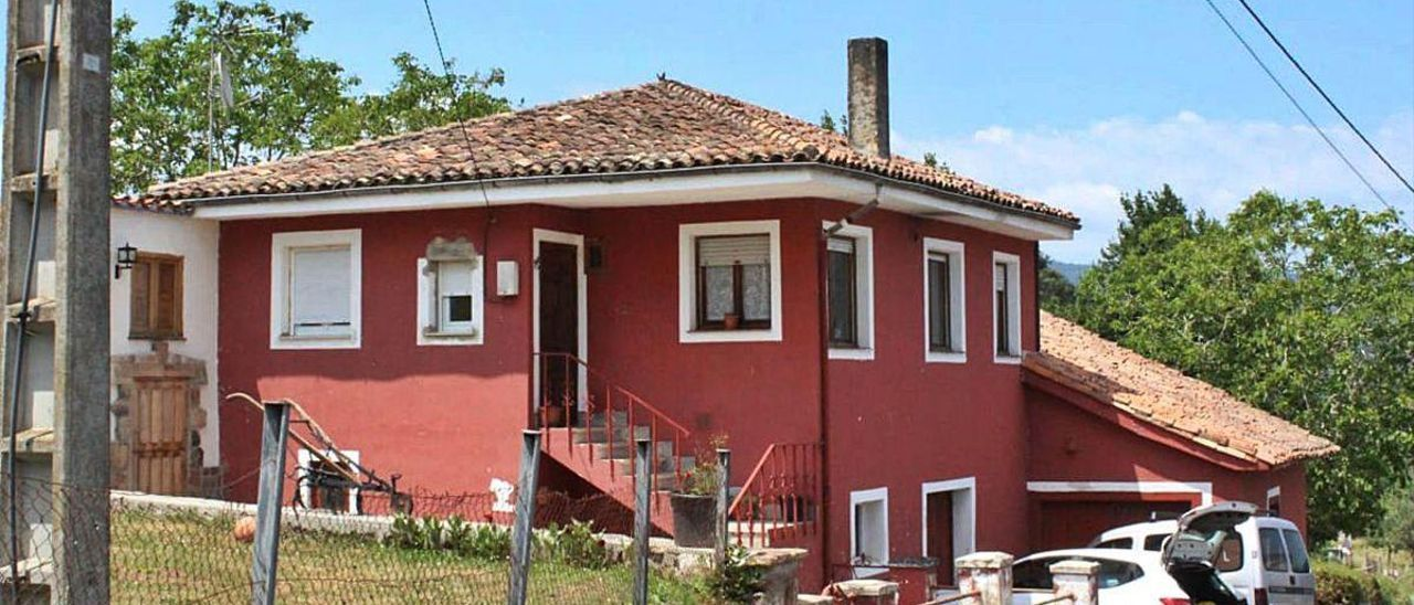 La vivienda que Javier Solares había adquirido recientemente en Santa María del Lugás.