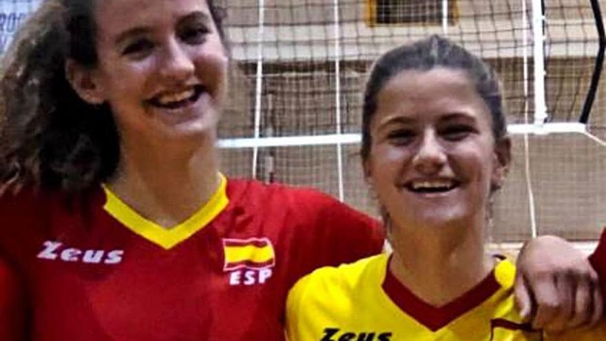 Tres juveniles mallorquinas convocadas con la selección de voleibol