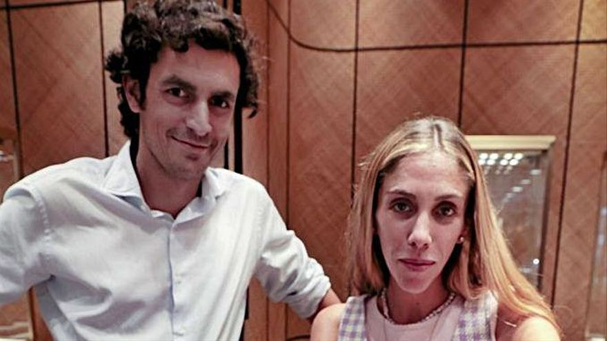 Gabriel Suarez y Sandra Rojo.