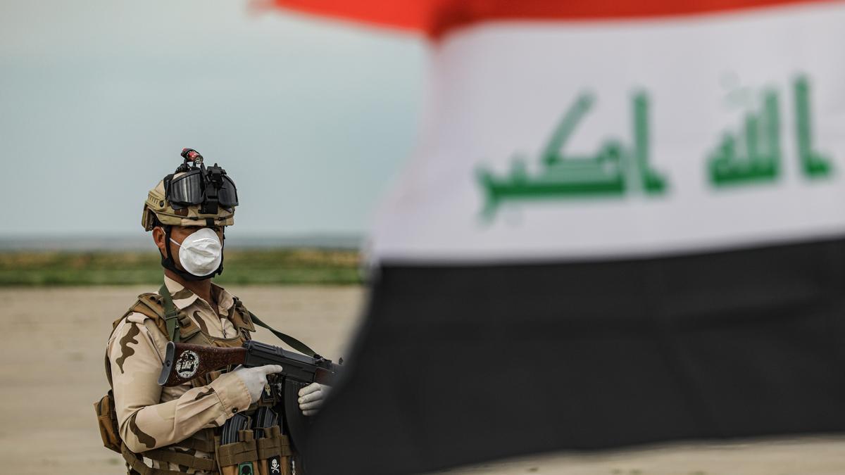 Un soldado del Ejército de Irak.