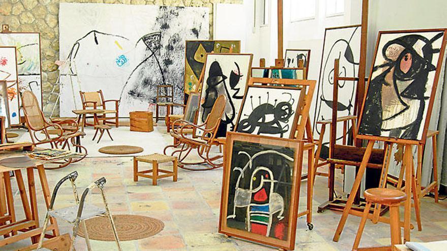 Mirós Mallorca-Atelier wird renoviert