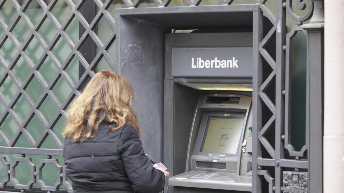 Un cajero de Liberbank.