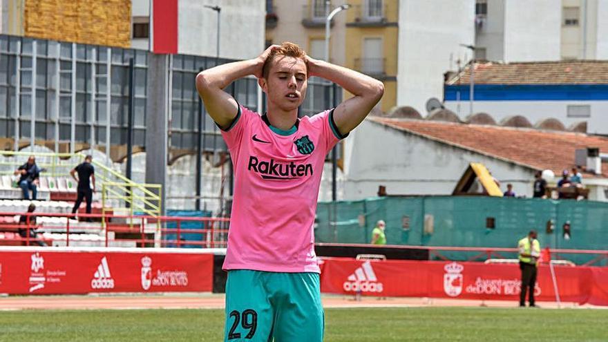 El Barça B, fora del «play-off»