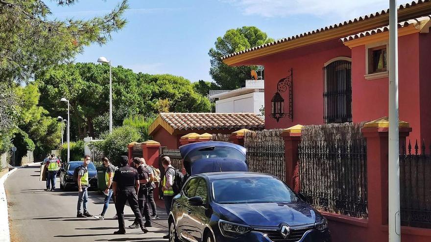 Registran el chalé de Carlos Fabra por nuevos delitos de corrupción