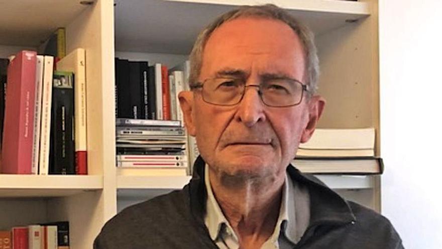 """Ramón Lapiedra: """"Si els conflictes  socials es poden dirimir des de  la política, millor"""""""