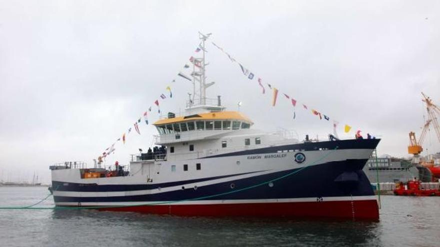 El buque oceanográfico Ramón Margalef llega hoy a La Palma para localizar posibles focos de erupción bajo el mar
