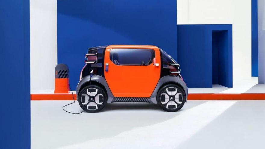 Nuevo Citroën Ami One Concept, un coche eléctrico para todos
