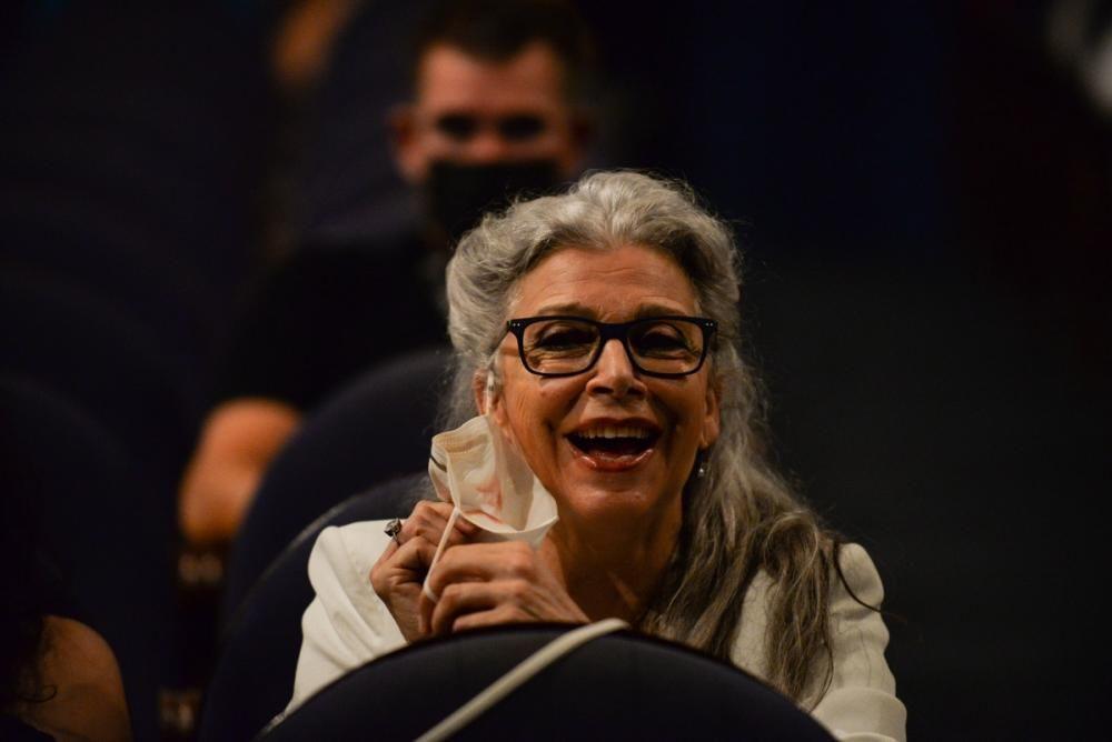 Gala de entrega del Premio Ciudad del Paraíso a la actriz Kiti Mánver.