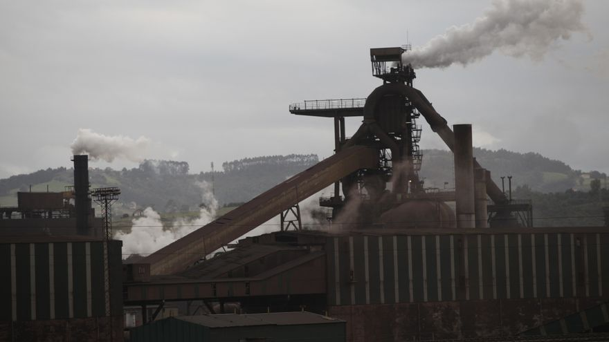 Arcelor elevará sus metas de recorte de CO2 en Europa con la inversión en Asturias