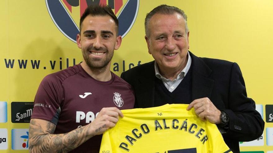 """Alcácer: """"Sé que no me equivoco al venir al Villarreal"""""""