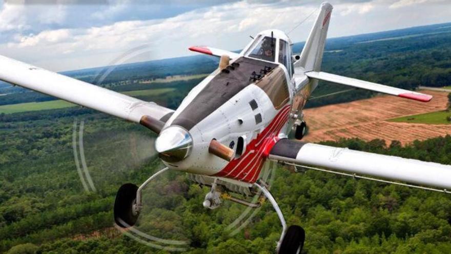 Los dos nuevos aviones antiincendios de la Xunta operan desde la semana pasada