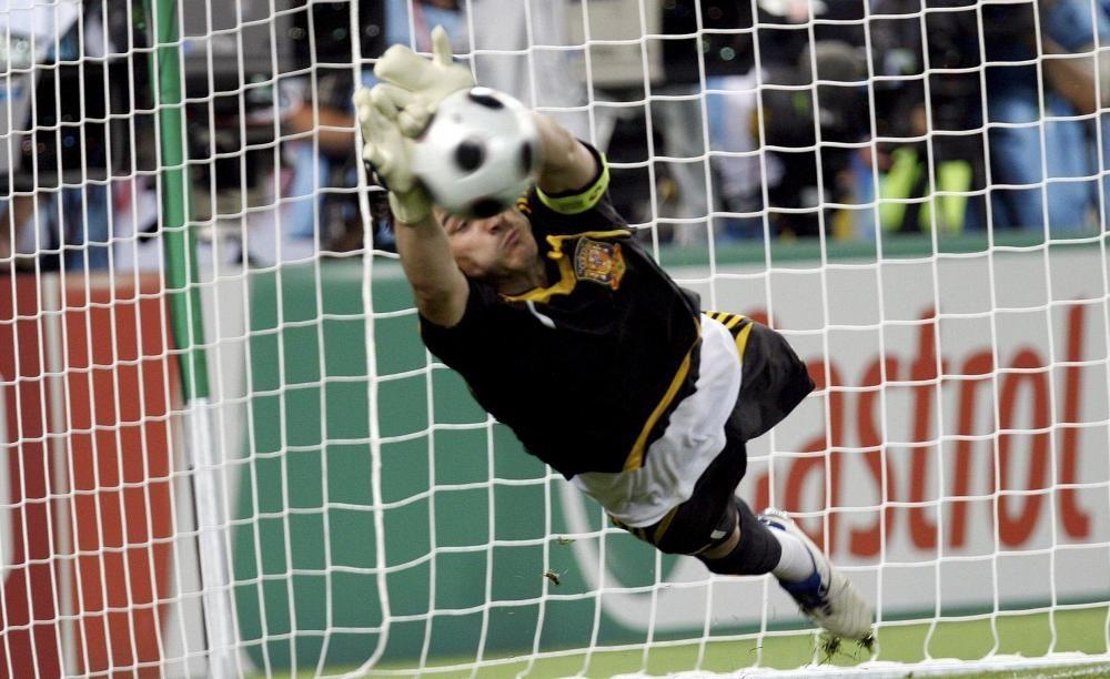 Casillas, una carrera llena de éxitos.