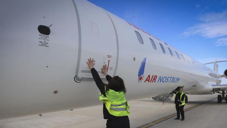 Air Nostrum deja de volar de inmediato por el coronavirus