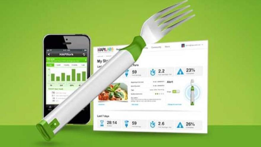 Presentan 'HapiFork', un tenedor inteligente para adelgazar - Levante-EMV
