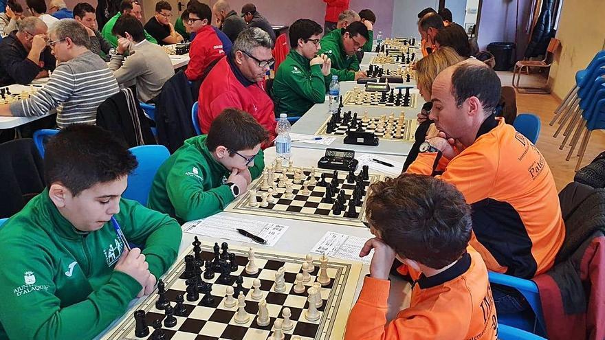 El Ajedrez de Alaquàs coloca a sus dos equipos en la élite autonómica