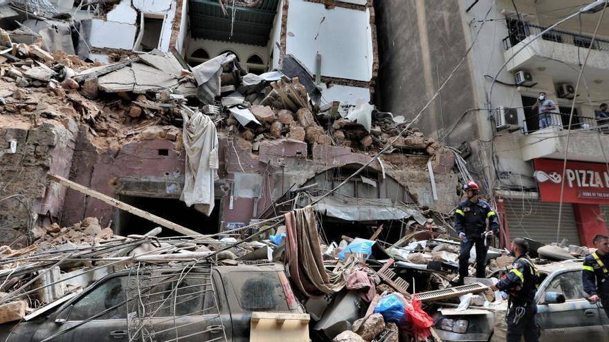 Detenidas 16 personas en el marco de las investigaciones por las explosiones en Beirut