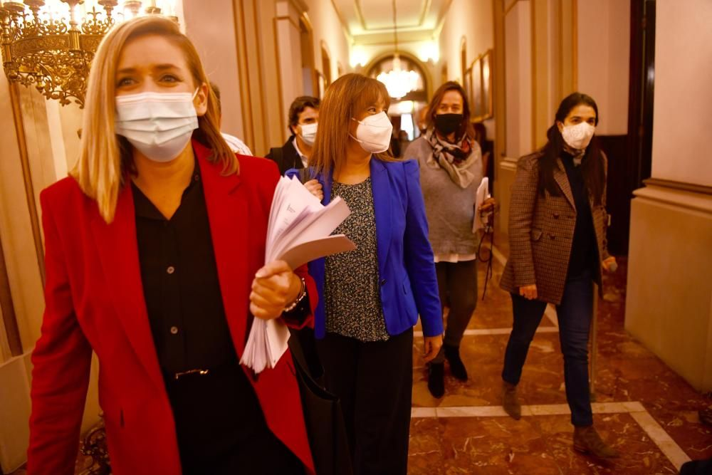 Aprobada la suspensión de licencias en As Xubias