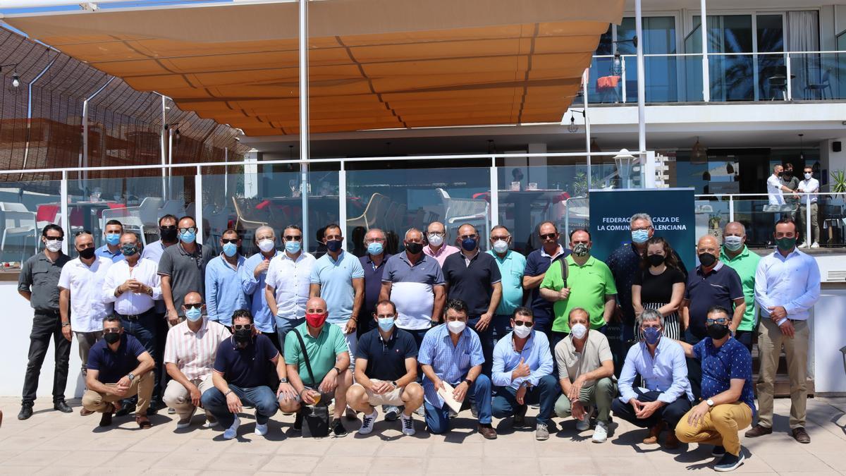 Asamblea celebrada por la Federación de Caza de la Comunitat Valenciana el pasado 26 de junio.