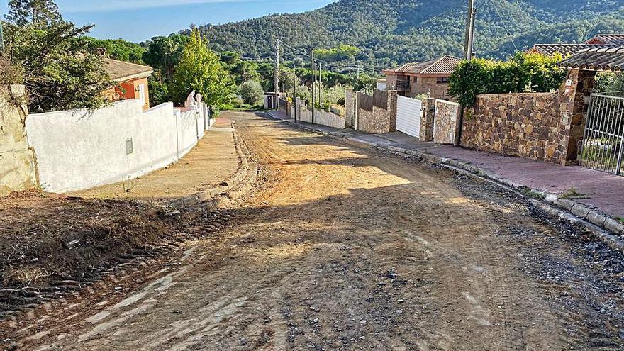 Comencen els treballs d'urbanització de Mas Pere a Calonge