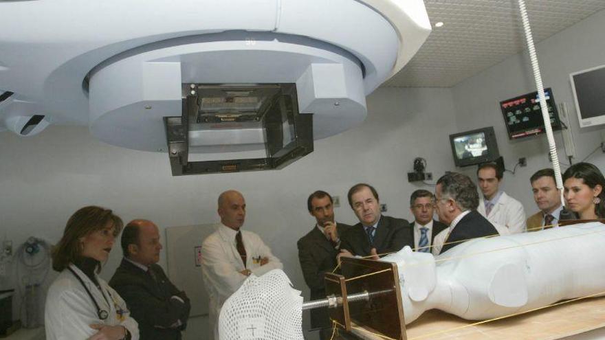 Un cambio informático obliga a suspender tratamientos de radioterapia