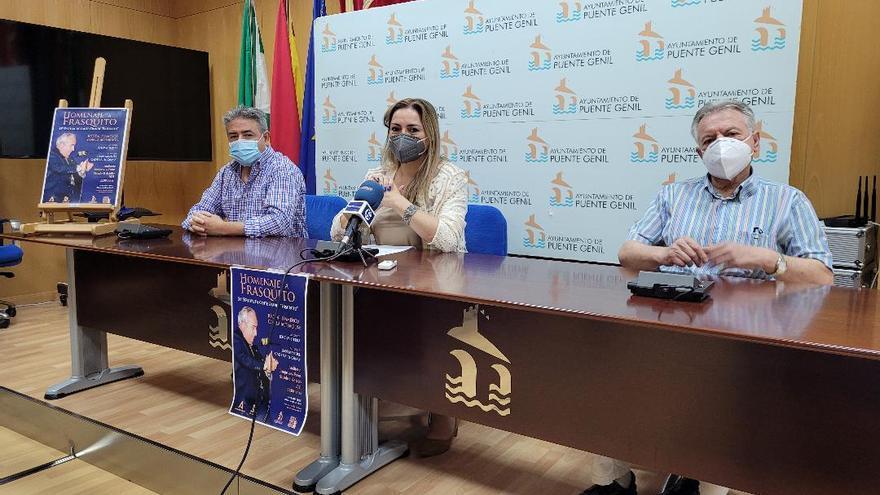 El parque de Los Pinos de Puente Genil acoge un homenaje a Francisco Baena Diéguez 'Frasquito'