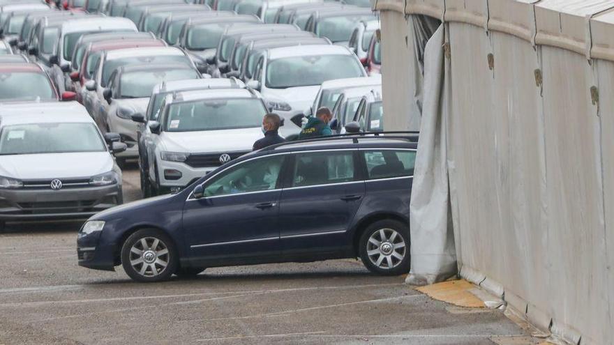 La Guardia Civil detecta restos biológicos en el coche del asesino de Marta Calvo
