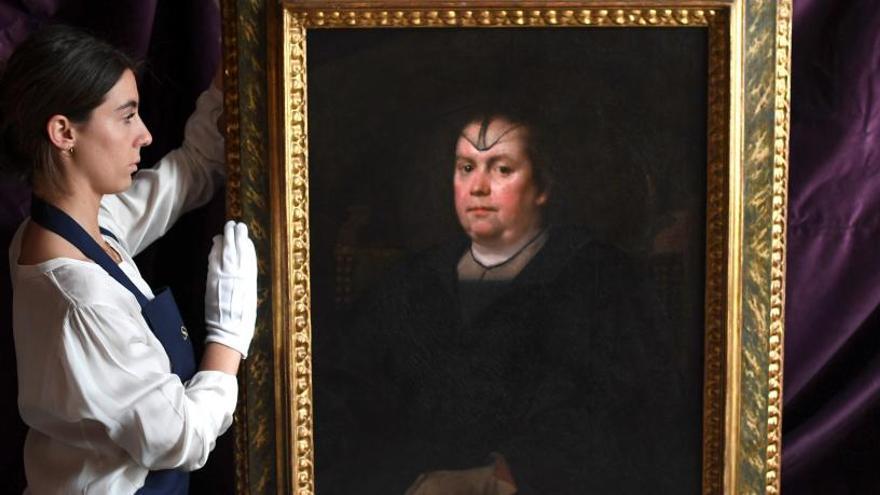 La obra 'La Amante del Vaticano' de Velázquez se vende por 2,7 millones