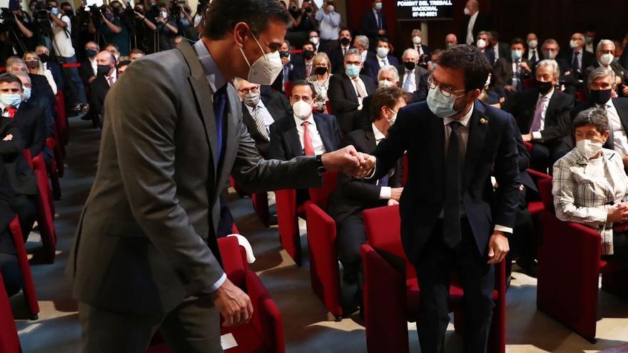 Sánchez y Aragonès se reunirán el 29 de junio en la Moncloa
