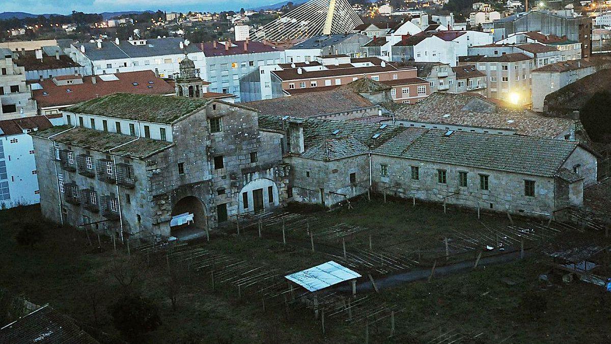 Convento de Santa Clara, cuyo interior y finca son grandes desconocidos.