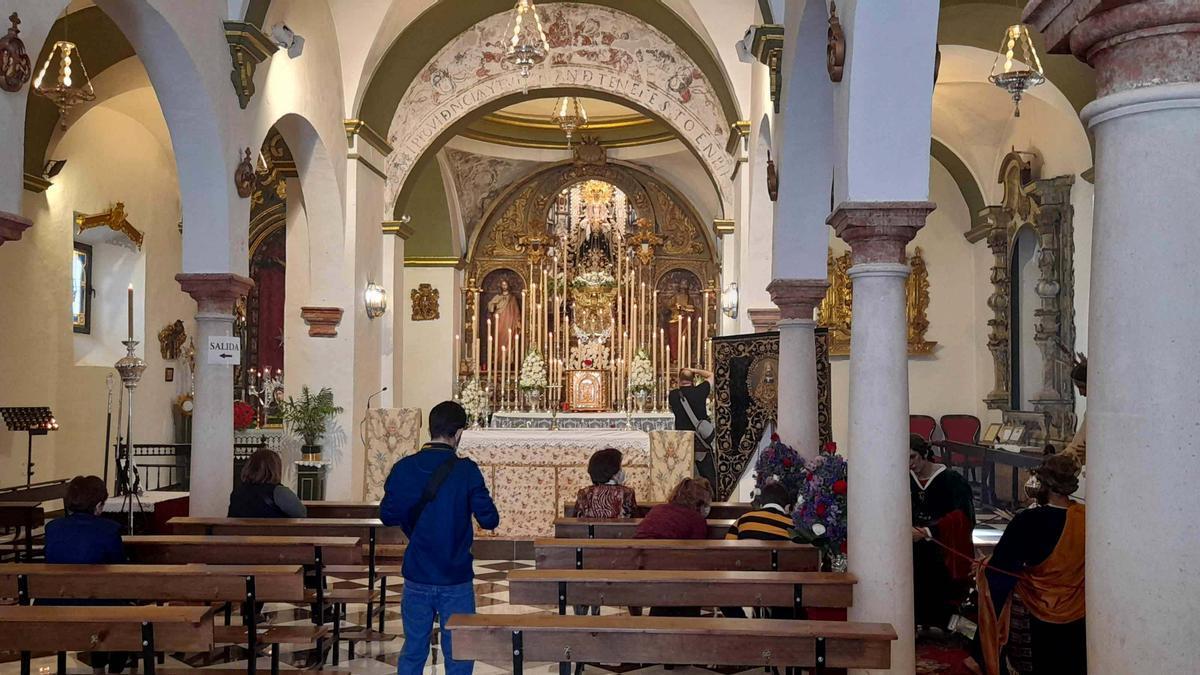 Iglesia de San Juan Bautista del Cerro, una de las que se propone para su declaración como BIC.