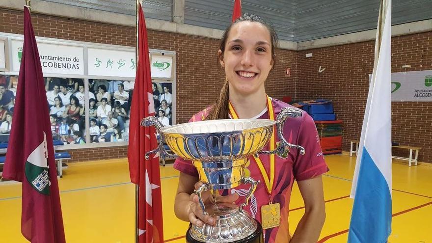 Raquel Montoro hace historia al ganar la Superliga de voleibol con el CCO 7 Palmas