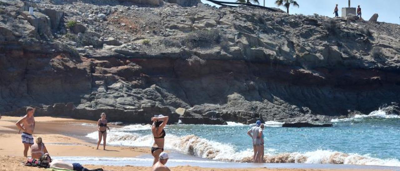 Imagen de archivo de la playa de Tauro, en el municipio de Mogán.     LP/DLP