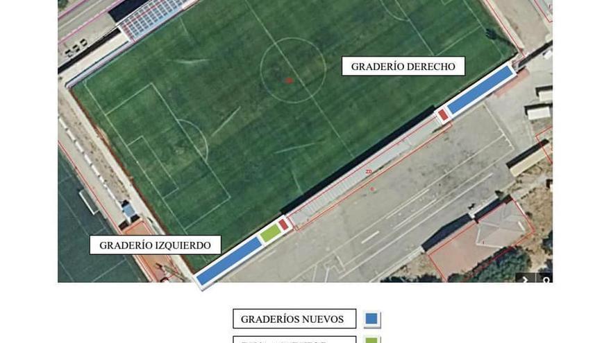 El Ayuntamiento de Coria adjudica obras de mejora de una zona deportiva por 169.000 euros