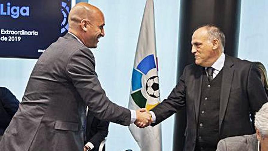 LaLiga pedirá una indemnización de 25 millones a la RFEF