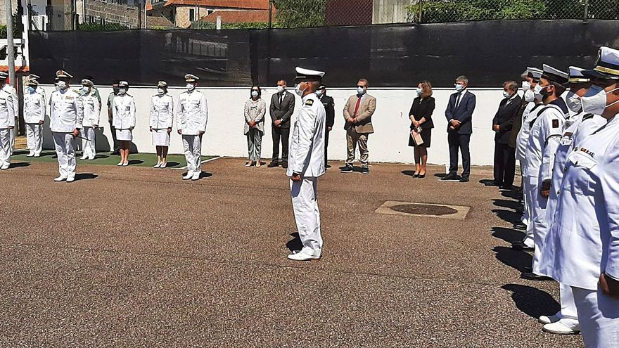 Relevo al frente de la Comandancia Naval del Miño