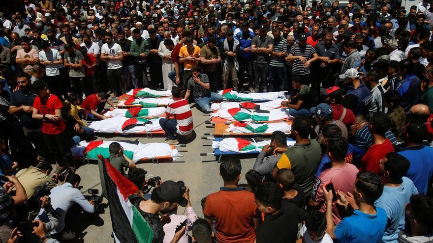 La ofensiva de Israel en Gaza deja 40 menores muertos