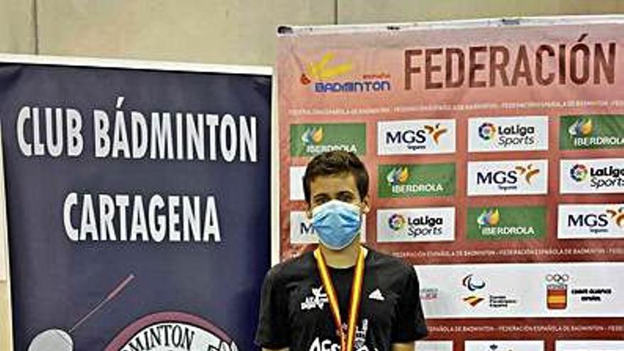José Molares, subcampeón de España Absoluto