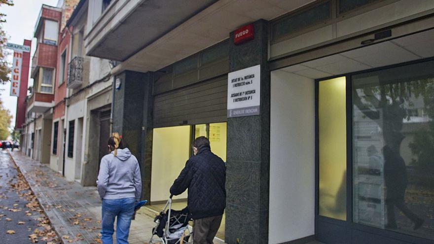 El Consell busca locales para superar la saturación de los juzgados de Sueca