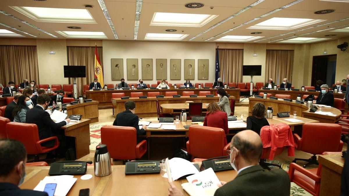 Diputación permanente del Congreso.