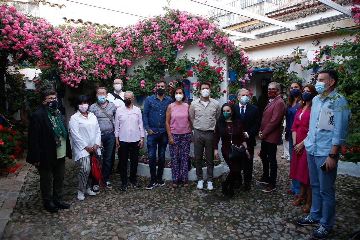 Los Patios de Córdoba se llenan de caras conocidas