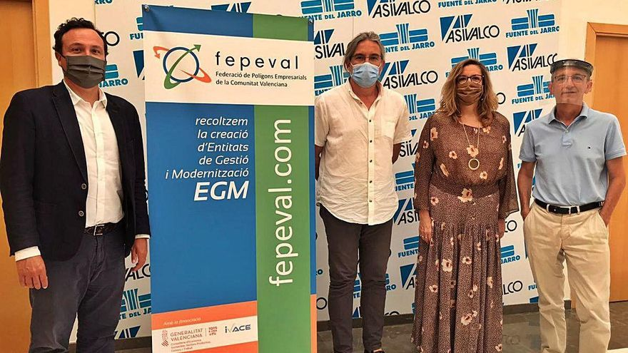 Fepeval aborda con la conselleria la movilidad en los polígonos