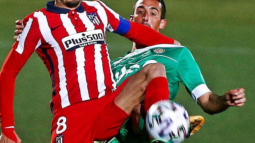 El Cornellà tumba en la Copa al Atlético, líder de Primera, con un gol de Adrián Jiménez