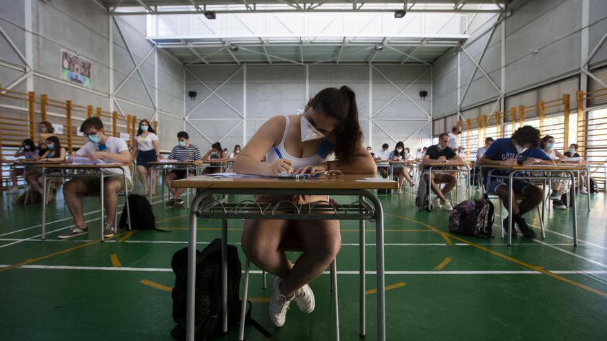 Las pruebas de Selectividad vuelven a las universidades